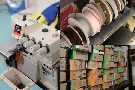 """""""気鋭のデザイナーたちが頼りにし、相談に訪れる高い技術の縫製工場"""